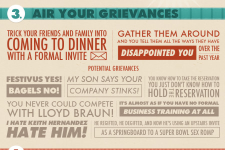 Festivus: How To Celebrate With the Rest of Us Infographic