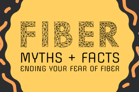 Fiber Myths & Facts: Ending Your Fear of Fiber  Infographic