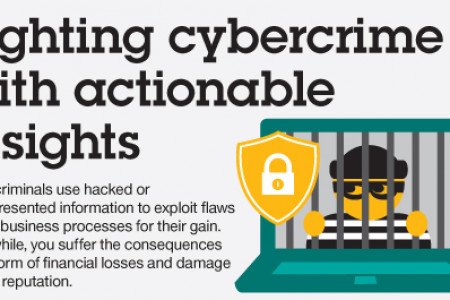 Fighting Cybercrime with Actionable Insights Infographic