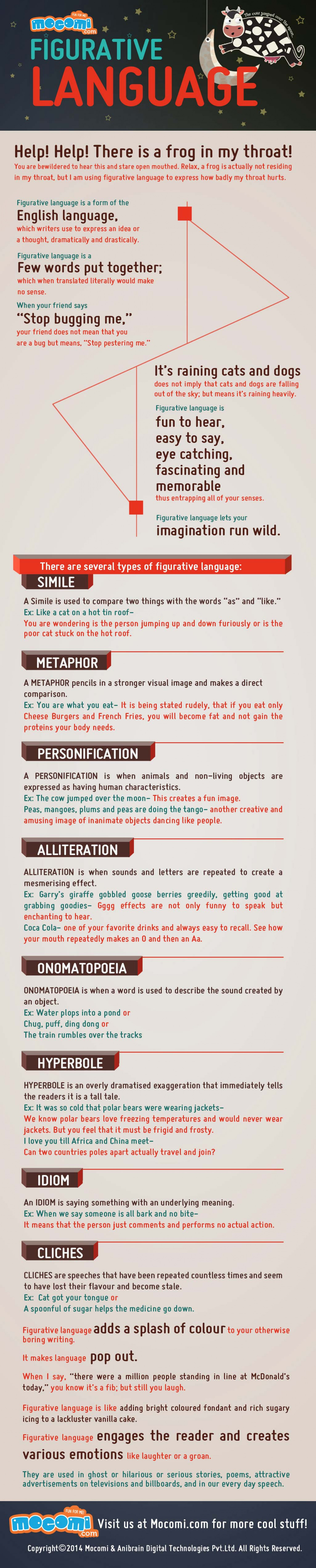 Figurative Language Infographic
