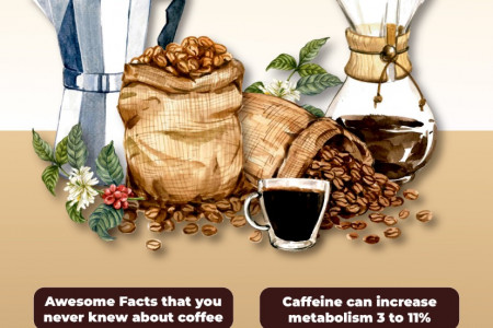 Filter Coffee Facts Infographic