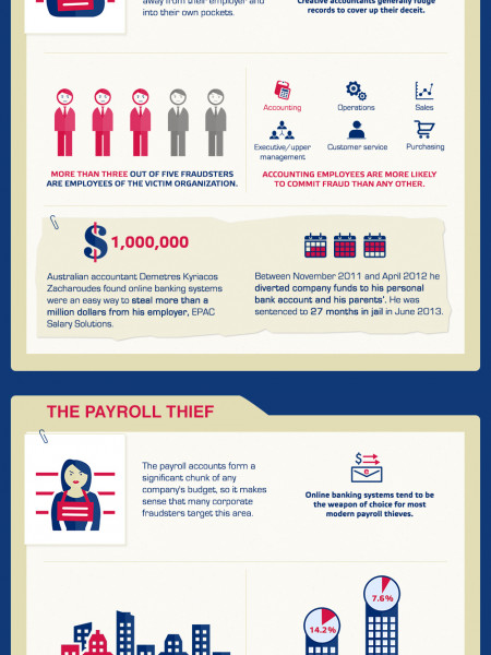 Financial Fraud in Digital Age Infographic
