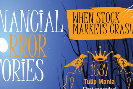 Financial horror stories – when stock markets crash  Infographic