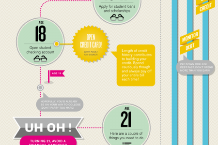Financial Timeline  Infographic