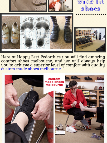 Find Comfort Shoes Melbourne Infographic