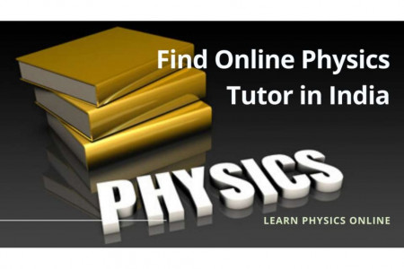 Find Online Physics Tutor in India Infographic