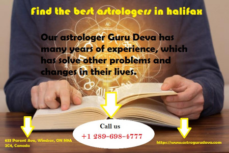 Find the best astrologers in halifax Infographic