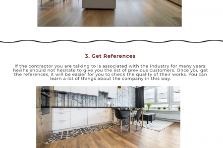 Find the Best Contractors for Hybrid Flooring Infographic