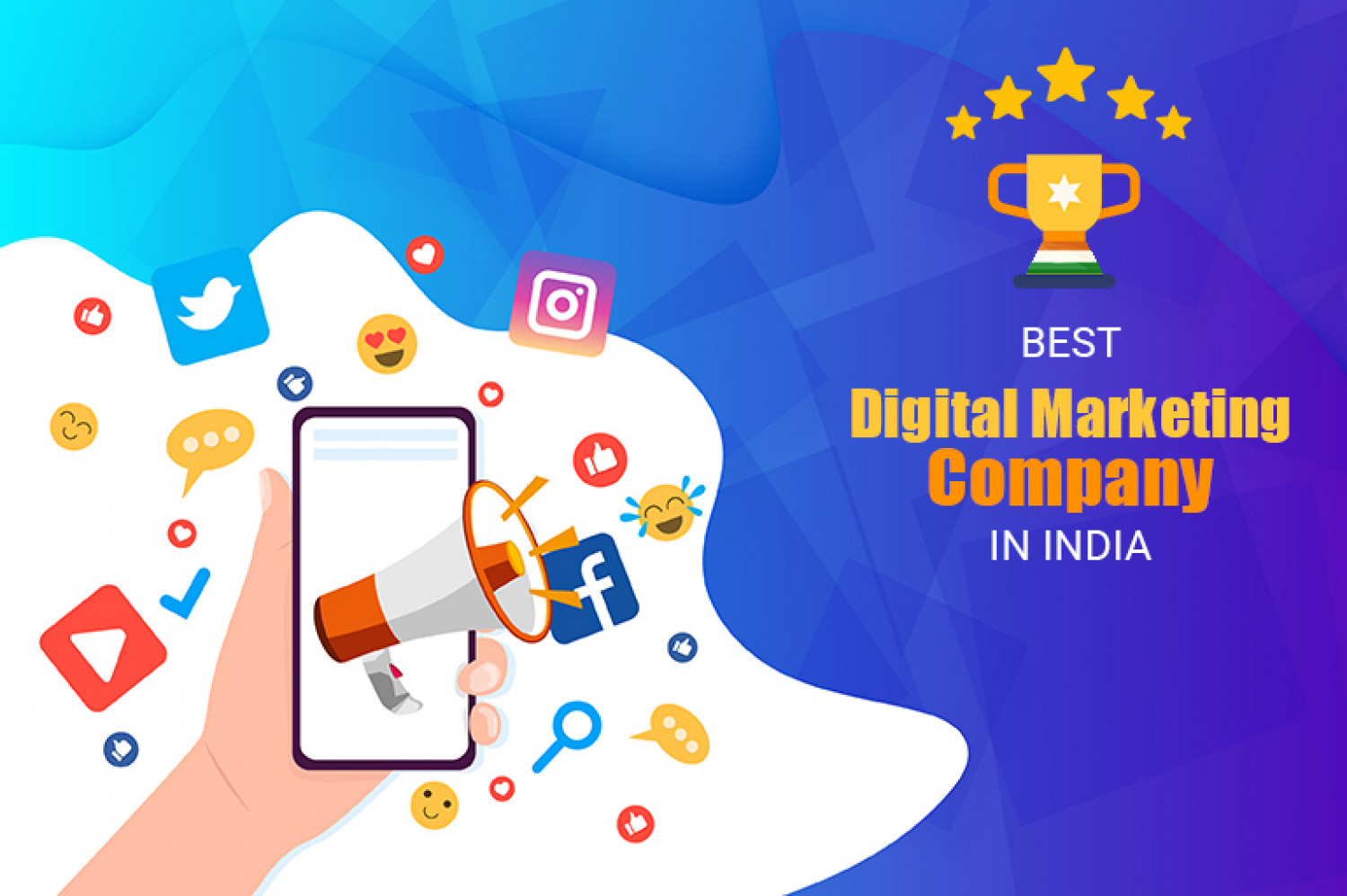Find the Best Digital Marketing Company in India   SEO Services in India Infographic