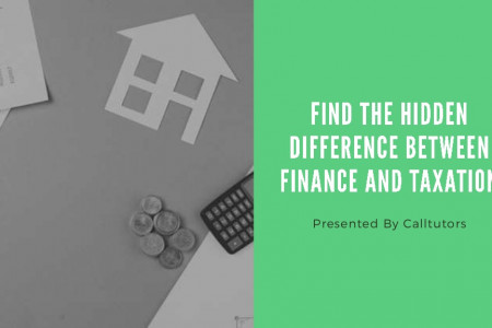 Find The Hidden Difference Between Finance and Taxation Infographic