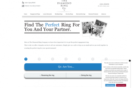 Find the Perfect Engagement Ring for you and your Partner Infographic