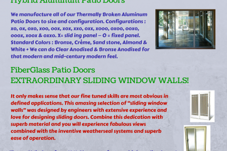 Finely Crafted Sliding Patio Doors For You House Infographic