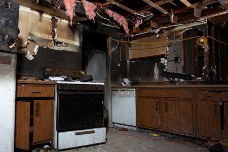 Fire Damage Hasting Infographic