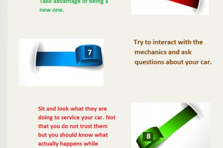 First Servicing of my car, What to do? Infographic
