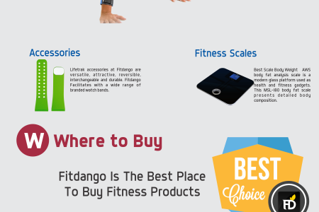 FitDango - One Stop Solution for all your Fitness Needs Infographic