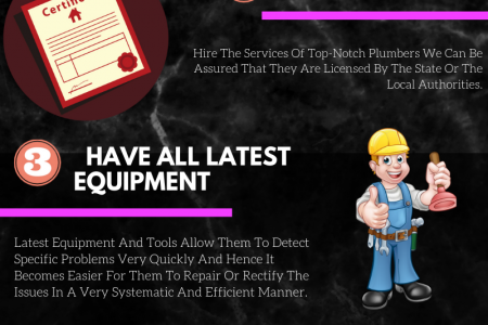 Five Points To Check Before You Hire Plumber For Home Infographic