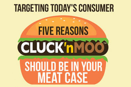 Five reasons CLUCK'nMOO should be in your meal case Infographic
