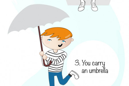 Five signs you are a grown up Infographic