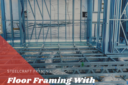 Floor Framing With Steel Infographic