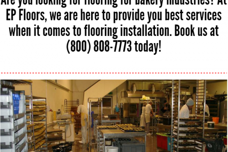 FLOORING FOR BAKERY Infographic