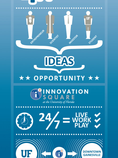 Florida Innovation Hub InfoGraphic Infographic