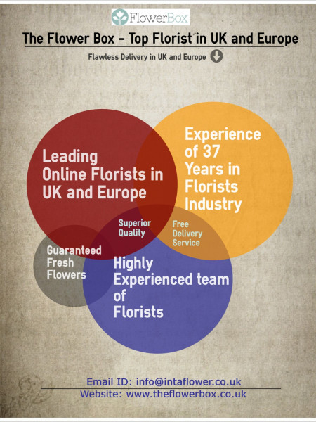 Top Florist in UK and Europe Infographic
