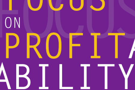 Focus on Profitability Infographic