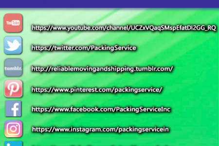 Follow Packing Service, Inc.! Infographic