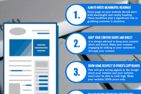 Follow These 5 Tips to Win with Website Content Infographic