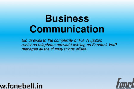 Fonebell Business communication Infographic