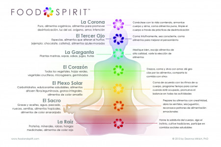 Food & Spirit 7 Aspectos de Auto Infographic