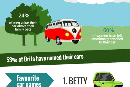 For the love of cars Infographic