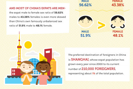 Foreigners in China Infographic