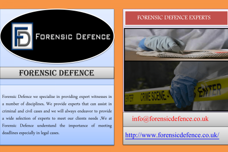 FORENSIC DEFENCE EXPERTS Infographic