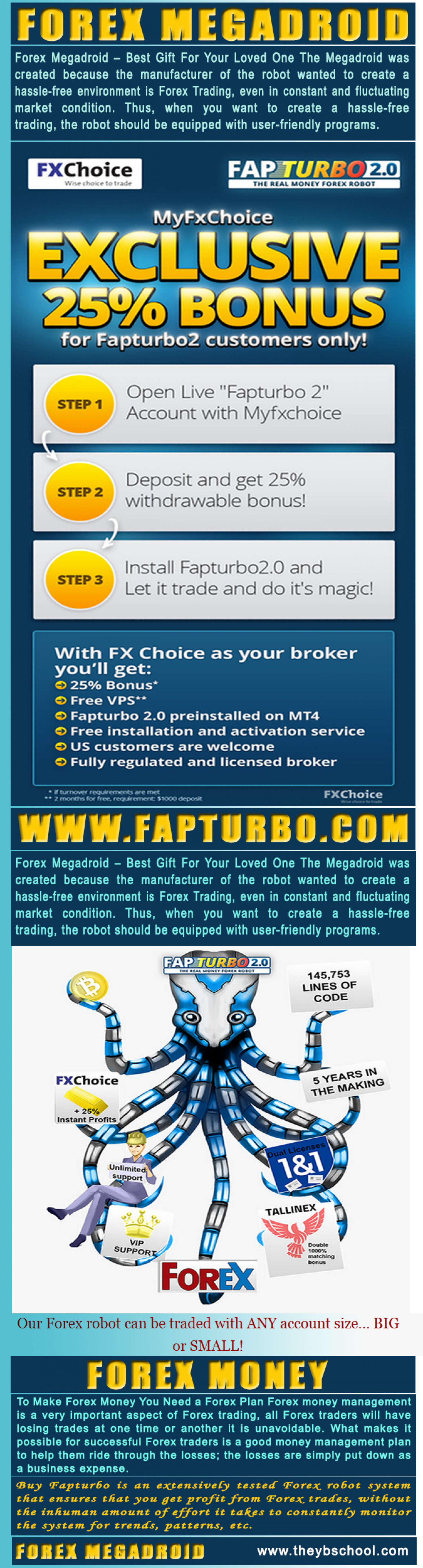 Forex Megadroid Infographic