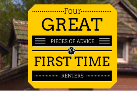 Four Great Pieces of Advice for First Time Renters Infographic