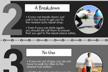 Four Reasons your car might need Towing Infographic