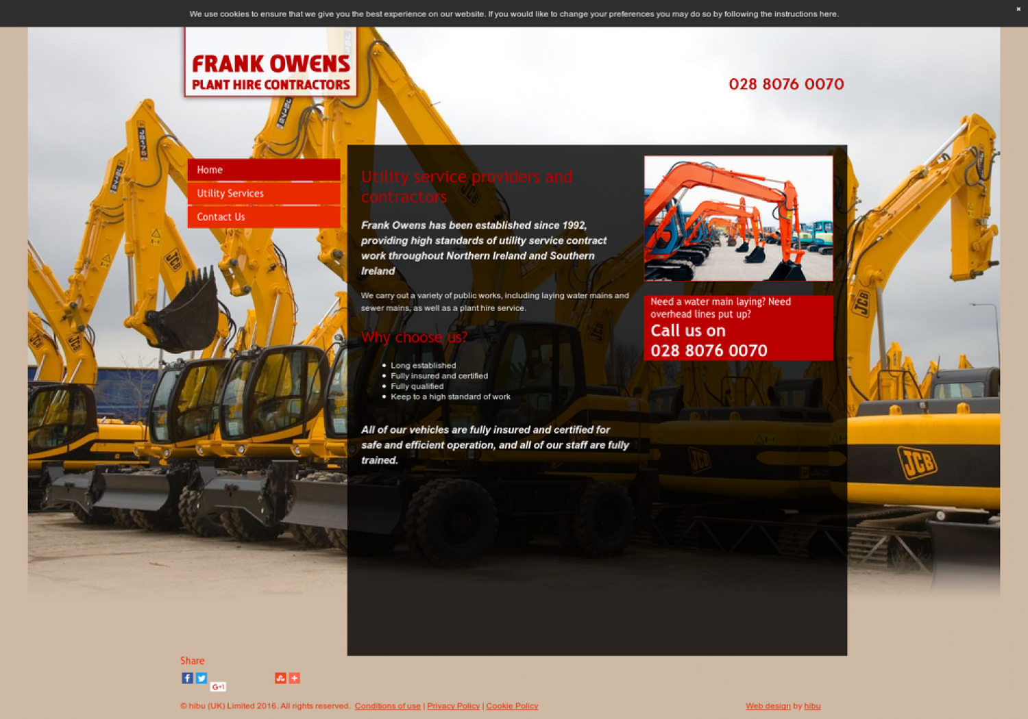 Frank Owens Limited Review: Reducing Harm on the Environment Infographic
