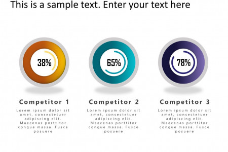 Free Competitor Analysis PowerPoint Infographic