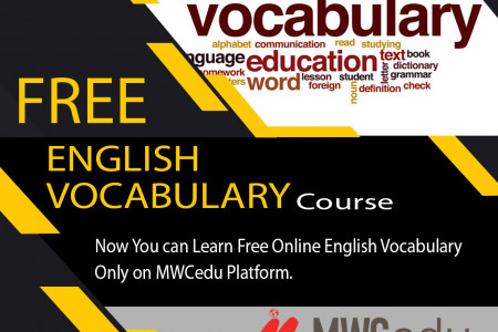 Free Online Course to improve Vocabulary Infographic
