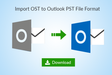Free OST to PST Converter Software Infographic