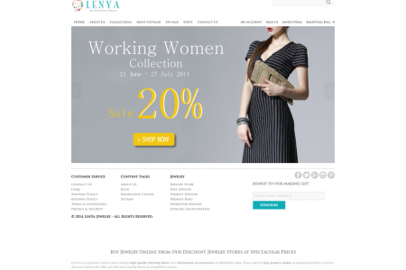 Free up your time and make your jewelry purchase easier with LenYa Jewelers:  Infographic