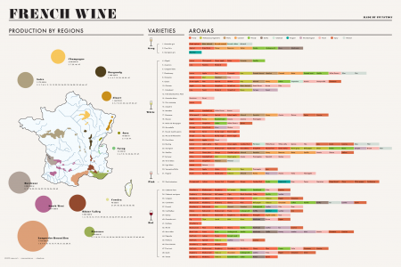 French Wine Infographic