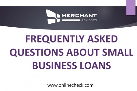 Frequently asked questions about small business loans Infographic