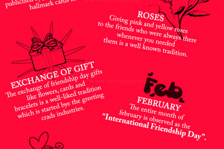 friendship day 2016 Infographic