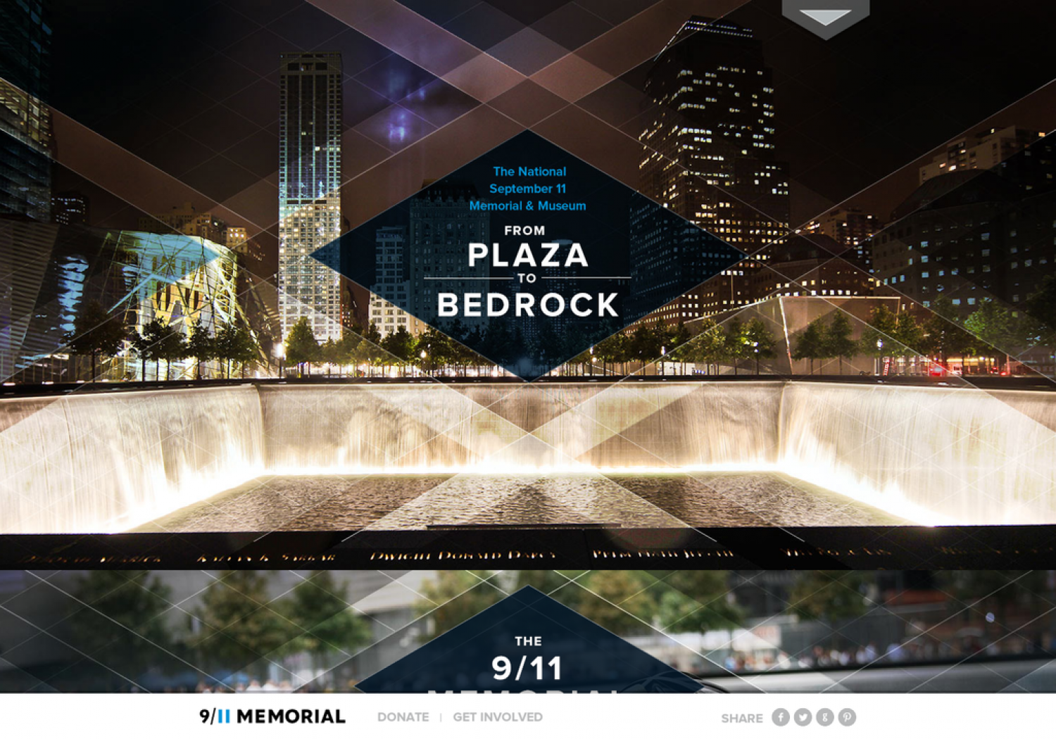 From Plaza to Bedrock: National 9/11 Memorial and Museum Infographic