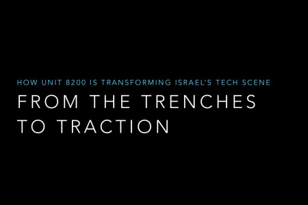 From the Trenches to Tractions: How Israel's 8200 Unit is Transforming Tech Infographic