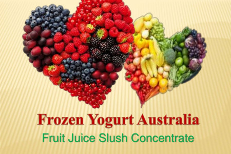 Frozen Yogurt Australia Fruit Slush Infographic