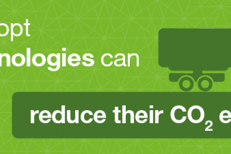 Fuel-efficient Truck Technologies Infographic