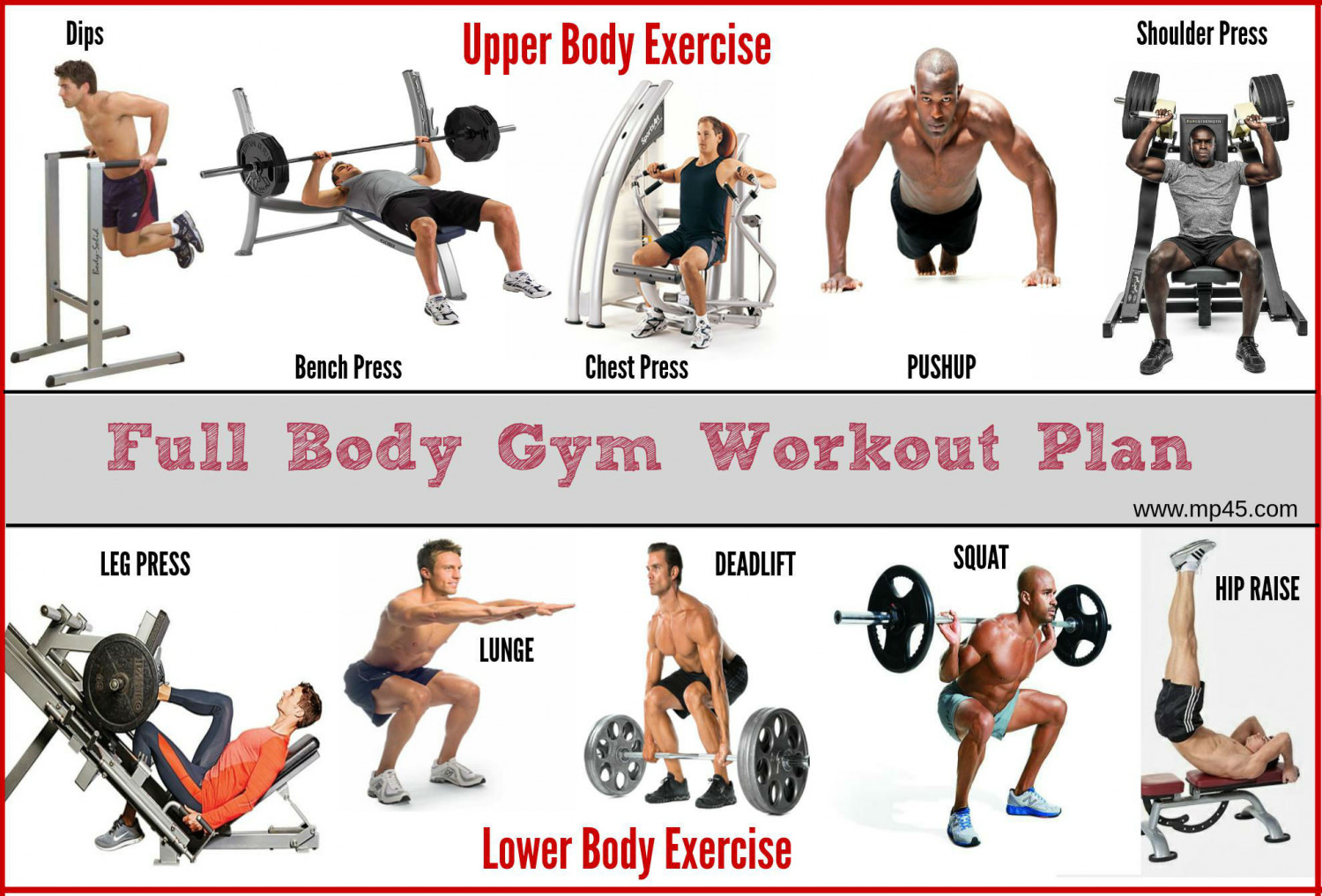 Image Result For Full Body Workout Men